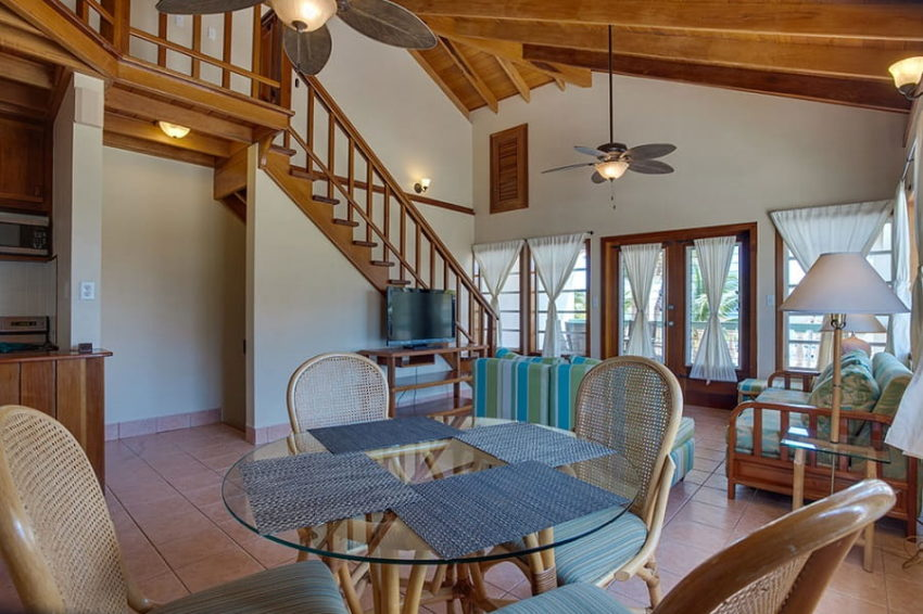 Seafront- Upper Level Suite, At Belizean Shores Resort