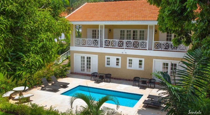 Butler Villa with 4 One-Bedroom Suites and Private Pool, Sandals Ochi Beach Resort