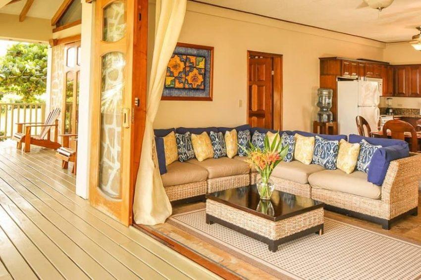 Two Bedroom Beachfront, Hopkins Bay Resort