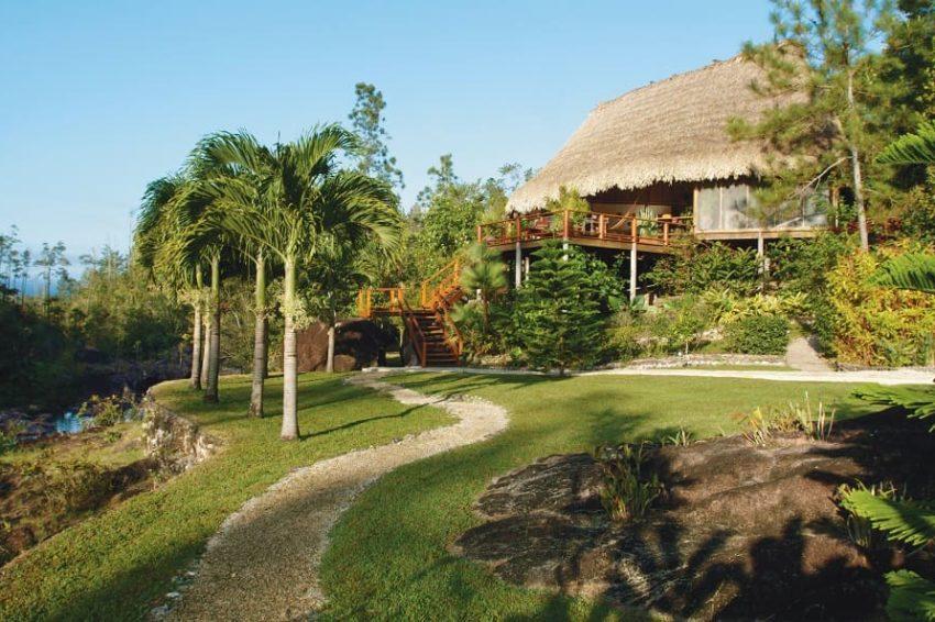 Francis Ford Coppola's Villa /Pool, Blancaneaux Lodge