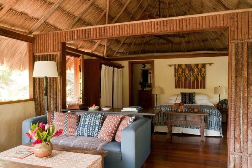 Honeymoon Cabanas, Blancaneaux Lodge