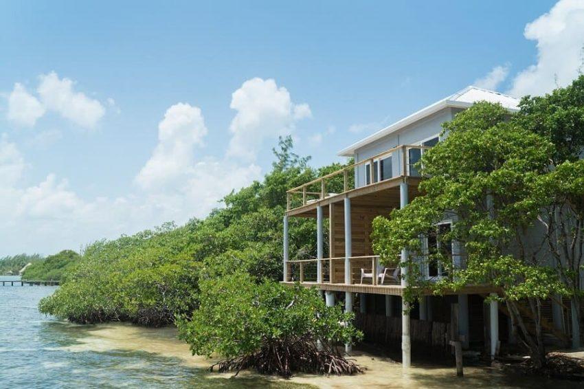 Penthouse Oceanfront Cabanas, Thatch Caye Island Resort