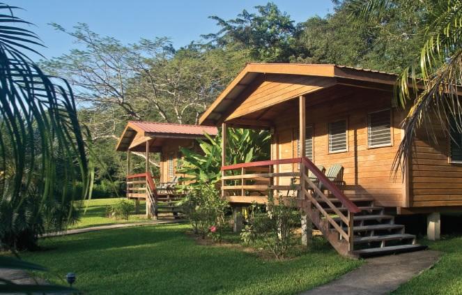 Hardwood Cabana, Big Fall Lodge