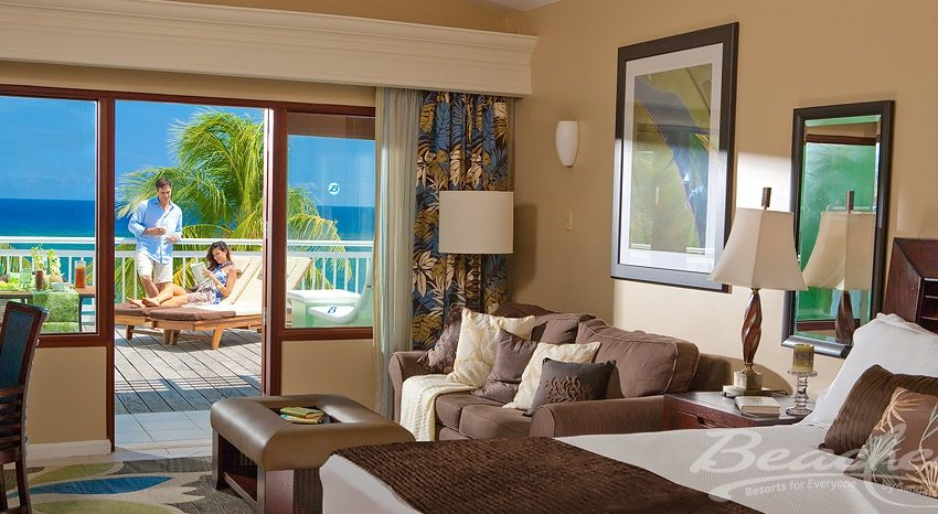 Greek Honeymoon Beachfront Concierge Terrace Suite Double, Beaches Ocho Rios