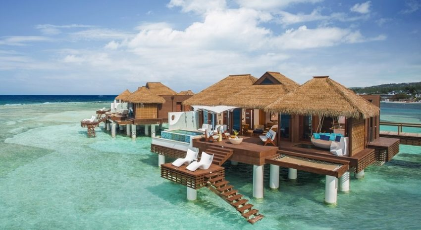 Over The Water Villas, Sandals Royal Caribbean