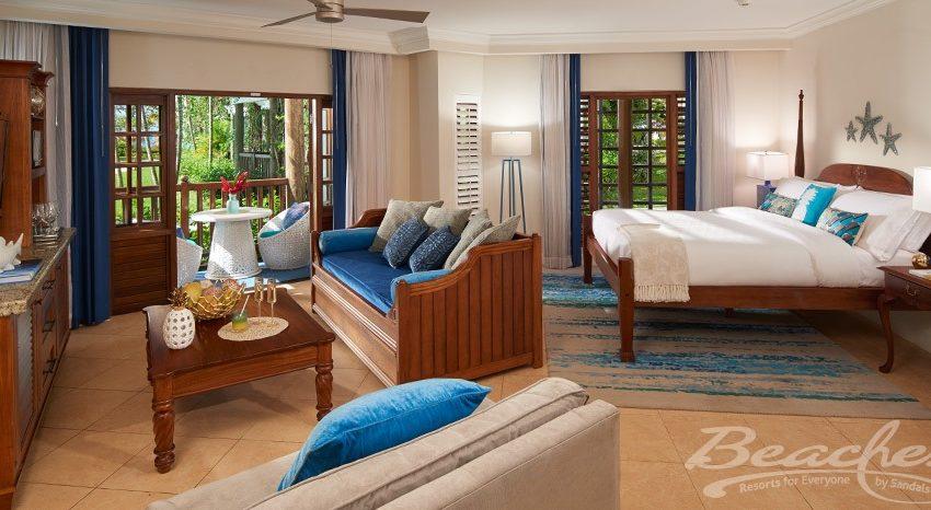 Tropical Beachfront Concierge Two-Bedroom Junior Suite - BSC