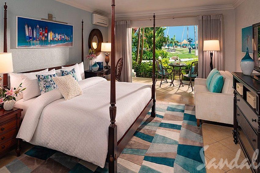 Caribbean Walkout Club Level Veranda Suite, Sandals Grande Antigua
